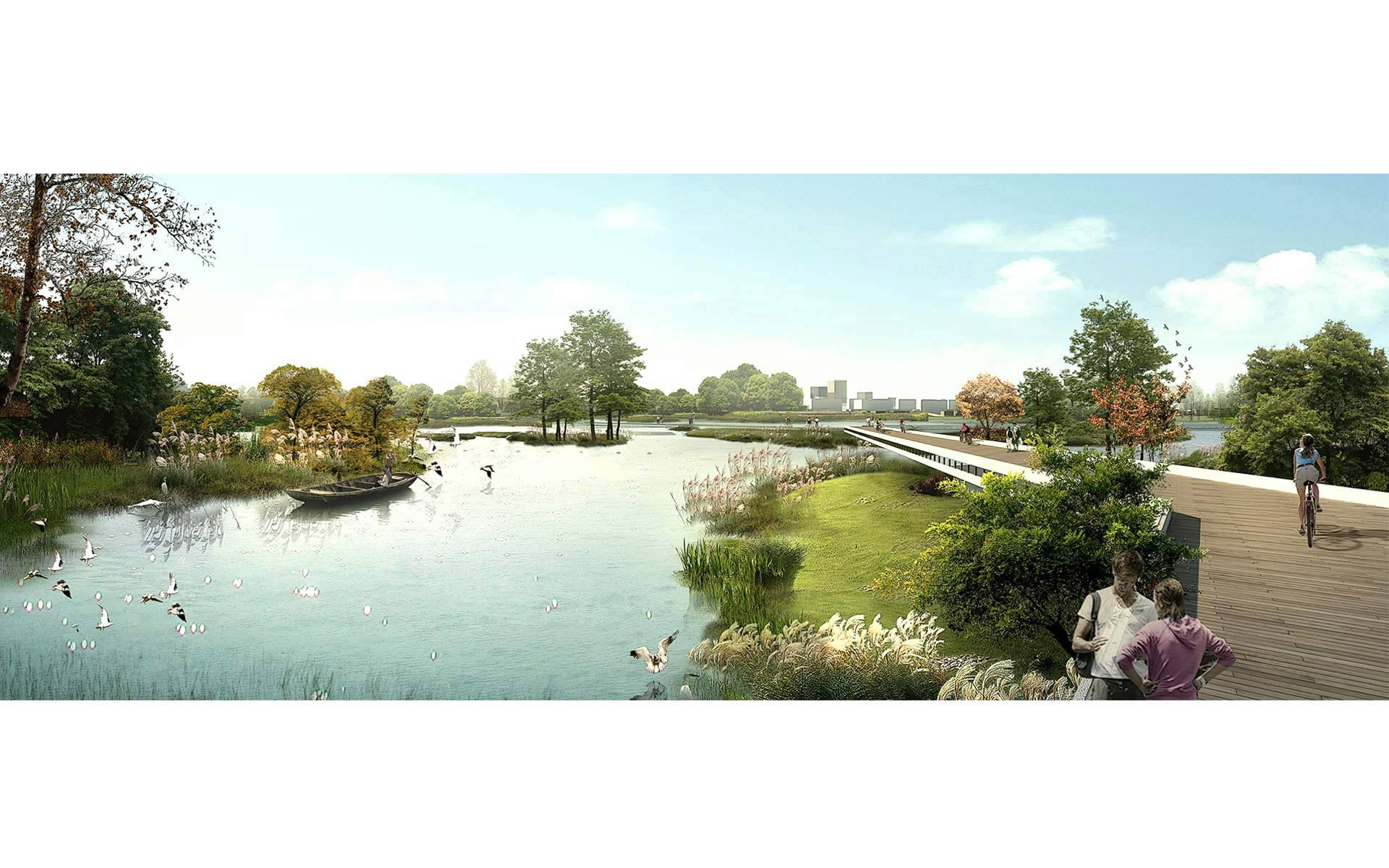 Sino german eco park landscape ecological design for Eco landscape design