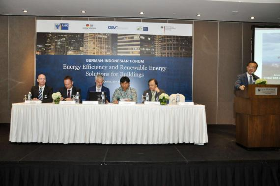 OBERMEYER at the Energy Solutions For Buildings Forum Jakarta Lecturer Area at the Forum