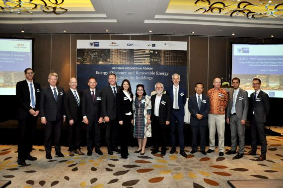 OBERMEYER at the Energy Solutions For Buildings Forum Jakarta, host and attendances
