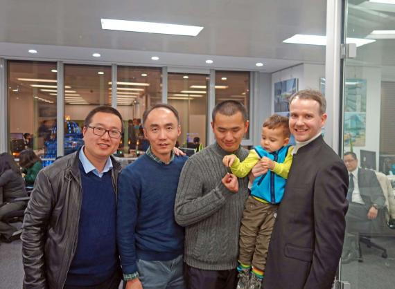 OBERMEYER Shanghai Office Relocation, Friends and partners get together