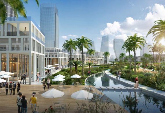 OBERMEYER Hainan Wenchang Mulan Bay Urban Design Eye Park Edge