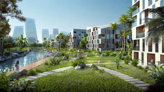 OBERMEYER Hainan Wenchang Mulan Bay Urban Design Green Courtyard