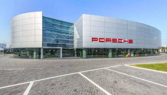 OBERMEYER Porsche dealership Shanghai Exterior View