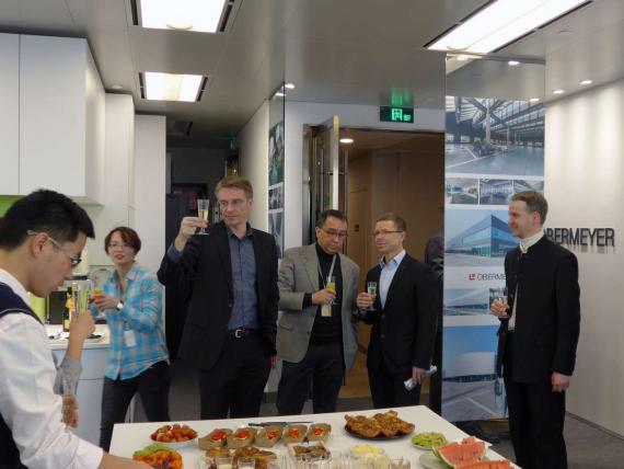 OBERMEYER Shanghai Office Relocation, celebration